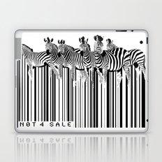 Zebra Barcode Laptop & iPad Skin