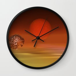 peaceful time -1- Wall Clock