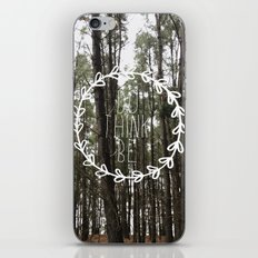 do think be positive iPhone Skin