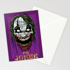 Joker Zombie Stationery Cards