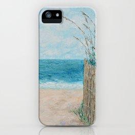 Sandbridge Shores iPhone Case