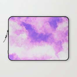 Pink and Purple Clouds  Laptop Sleeve