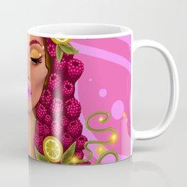 raspberry Goddess Coffee Mug