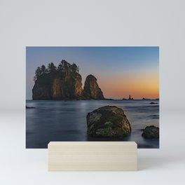 Sea Stacks at La Push Mini Art Print