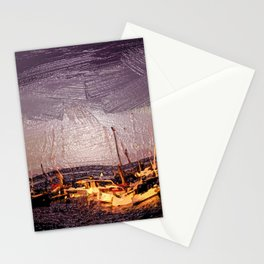 Marina of Horumersiel - Lower Saxony - Germany Stationery Cards