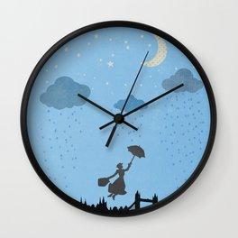 flying nanny... Wall Clock