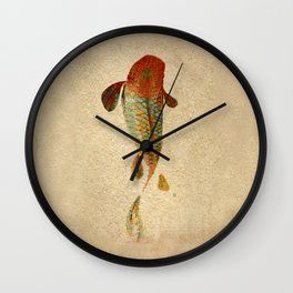 Mystic Koi Wall Clock