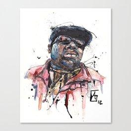 The Notorious B.I.G. aka Biggie aka Frank White Canvas Print