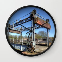 Lift Bridge Wall Clock
