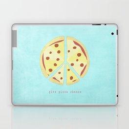 Give Pizza Chance Laptop & iPad Skin