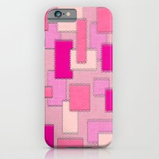 Pink Patches iPhone 6s Slim Case