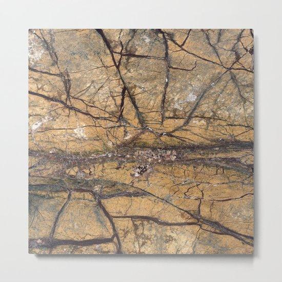 Marble Metal Print