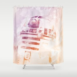 R2D2 Shower Curtain