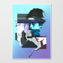 Dead Battery Canvas Print
