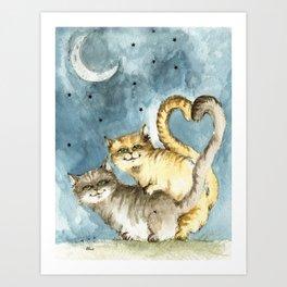 love time Art Print