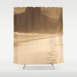 Memories f Ipanema Shower Curtain