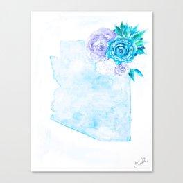 ZONA - white background Canvas Print