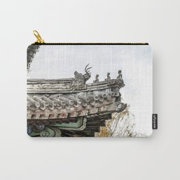 Summer Palace Pavilion Roofline, Beijing Carry-All Pouch