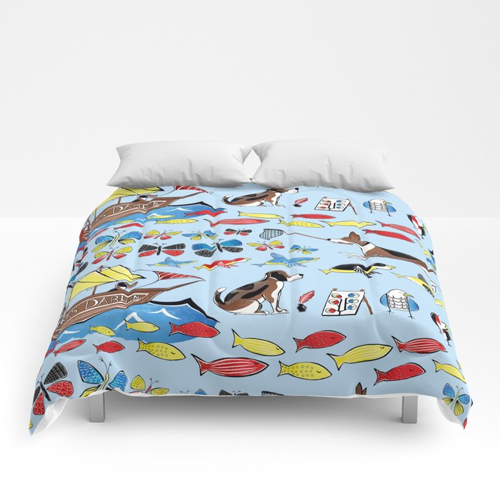 The Voyage of the Beagle Comforters