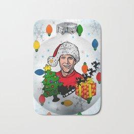 Best Christmas by Nico Bielow Bath Mat