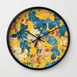 Summer Botanical II Wall Clock