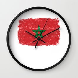 EGYPT FLAG Egyptian Eagle Retro  Gift For Egyptian Wall Clock