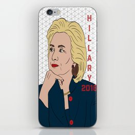 Hillary Clinton 2016 iPhone Skin