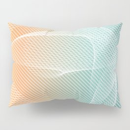 Ghostly Projections Pillow Sham