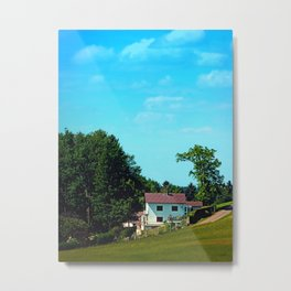 Farm, trees, clouds - what else? Metal Print