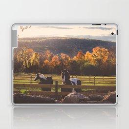 New England Fall Drive Laptop & iPad Skin