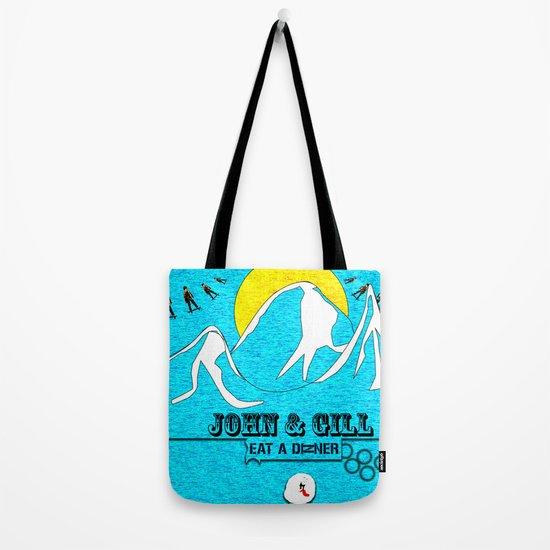 Jonh and Mayer Tote Bag