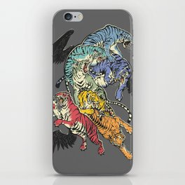 Seven Caged Tigers iPhone Skin