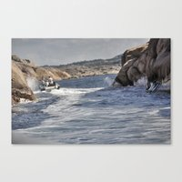 sweden Canvas Prints featuring Sweden by Jan Helge