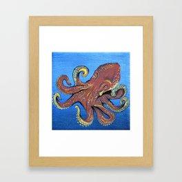 Iggy the Octopus Framed Art Print