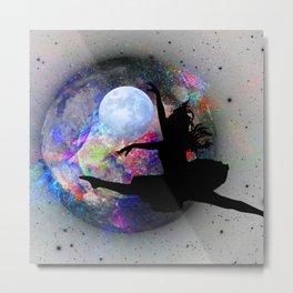 Dancing in the moon Metal Print