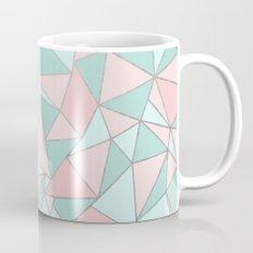 Ab Out Mint and Blush Coffee Mug