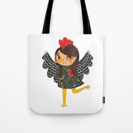 Happy New Year of the Rooster - Portuguese Rooster of Barcelos Tote Bag