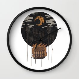 The Most Beautiful Night of All Wall Clock