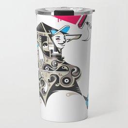 Careless vandal Travel Mug