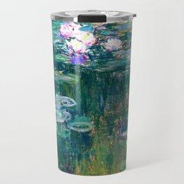 water lilies : Monet Travel Mug