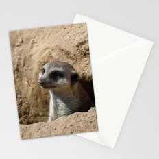 Meerkat Stationery Cards