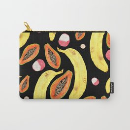 tropical juice (black) Carry-All Pouch