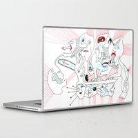 circus Laptop & iPad Skins featuring CIRCUS by Vanja Cankovic