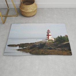 Head Habour Lightstation - Campobello Island New Brunswick Canada Rug