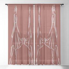 Vanity 9 Sheer Curtain