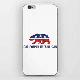 California Political Republican Bear  iPhone Skin
