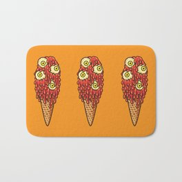 Mutant Ice Cream (chilli) Bath Mat