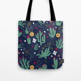 Cactus Blossoms  Tote Bag