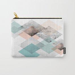 pastel geometric scandinavian inspiration Carry-All Pouch