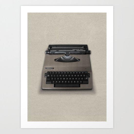 Kubrick Still Life #2 Art Print